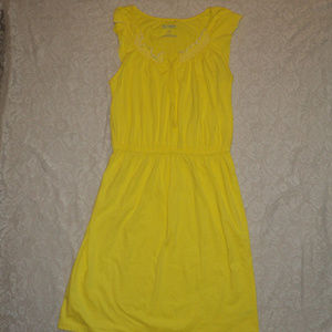 EUC Old Navy yellow summer dress,size small